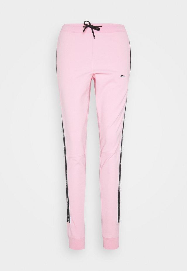 DAMEN - Teplákové kalhoty - rosa