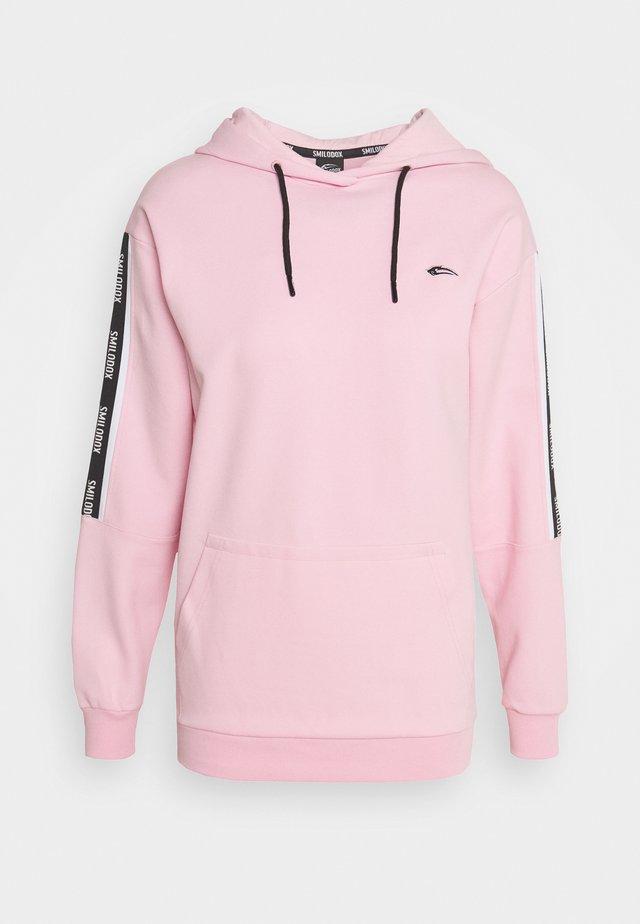 DAMEN HOODIE - Bluza z kapturem - rosa