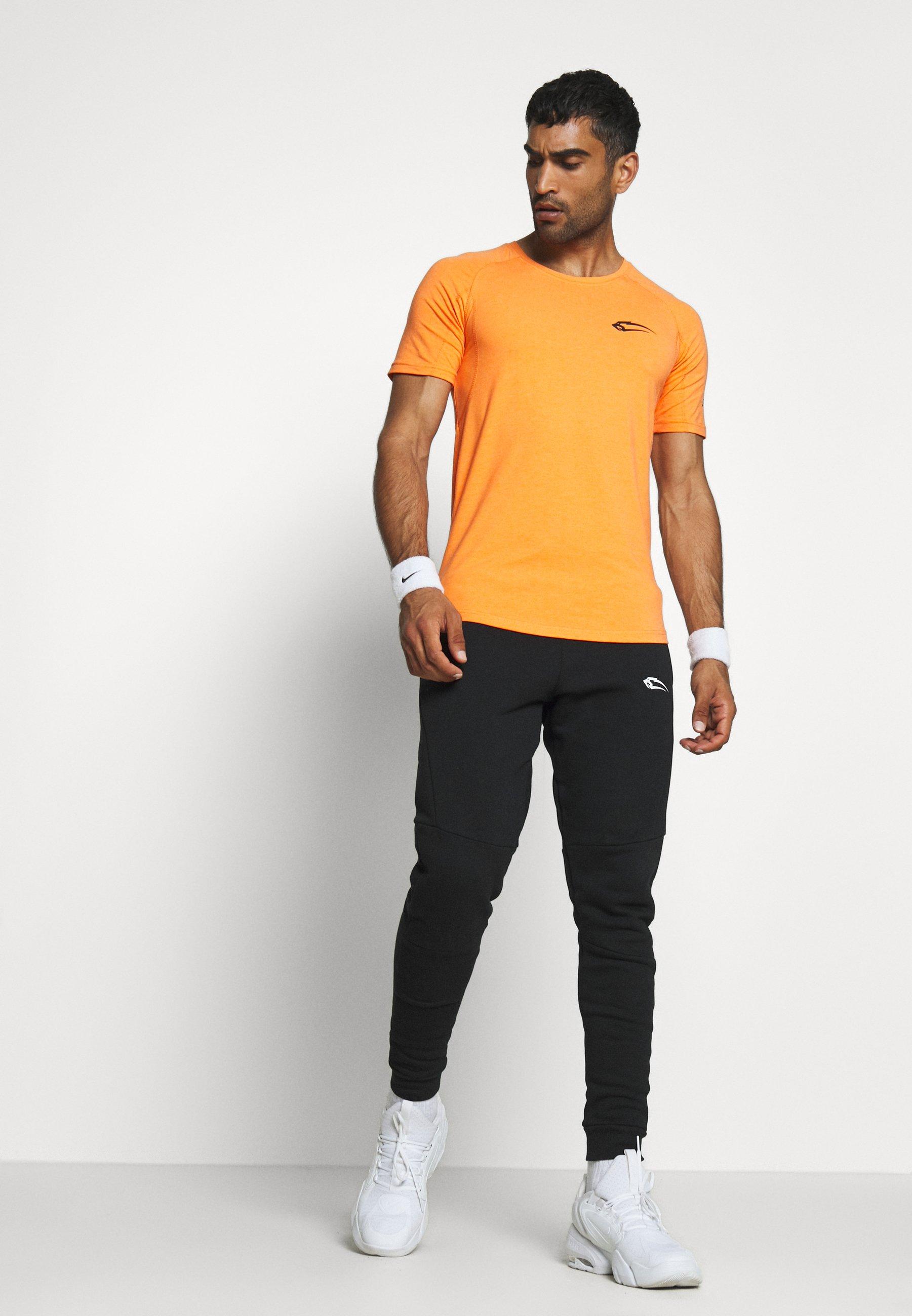 Smilodox Slim Fit - T-shirt Con Stampa Orange mqiI2