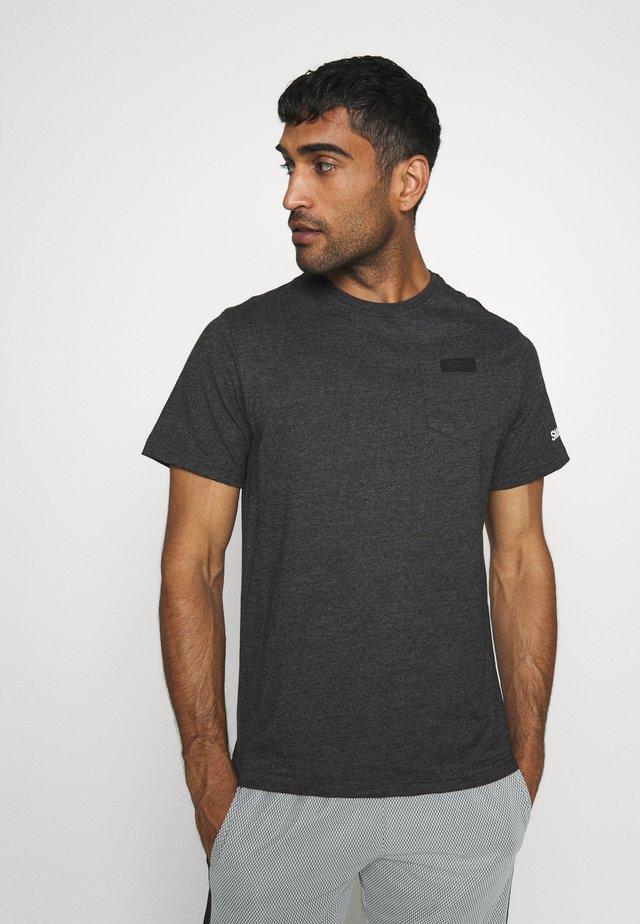 POCKET - Basic T-shirt - anthrazit