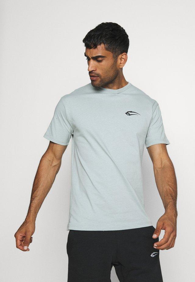 REGULAR FIT BASE - Jednoduché triko - blau