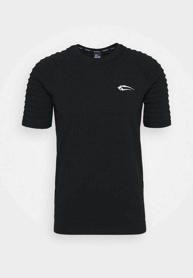 HERREN RIPPLEZ - T-shirts med print - schwarz