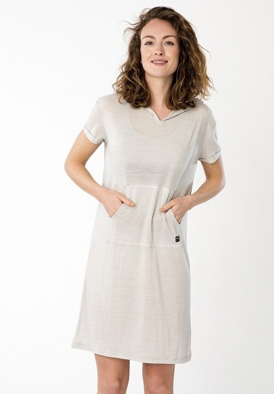 Sports dress - light grey