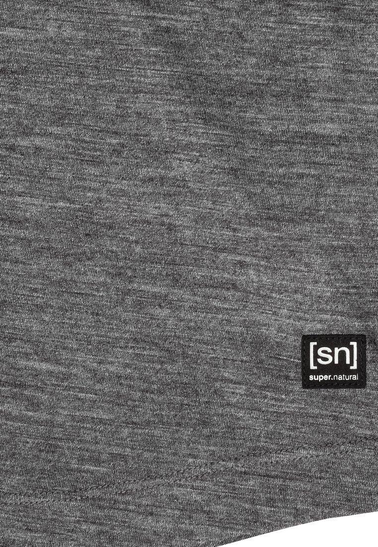 super.natural T-Shirt basic medium grey
