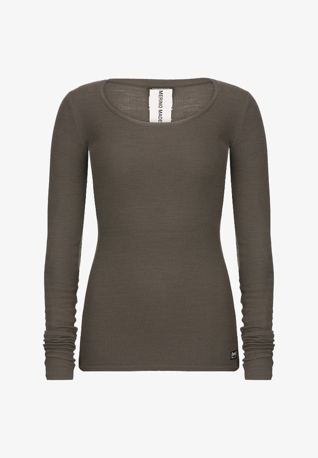 MERINO  - Jumper - brown