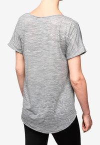 super.natural - W KNOT TEE - Print T-shirt - grey - 1
