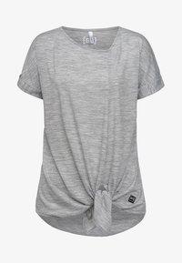 super.natural - W KNOT TEE - Print T-shirt - grey - 3