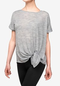 super.natural - W KNOT TEE - Print T-shirt - grey - 2