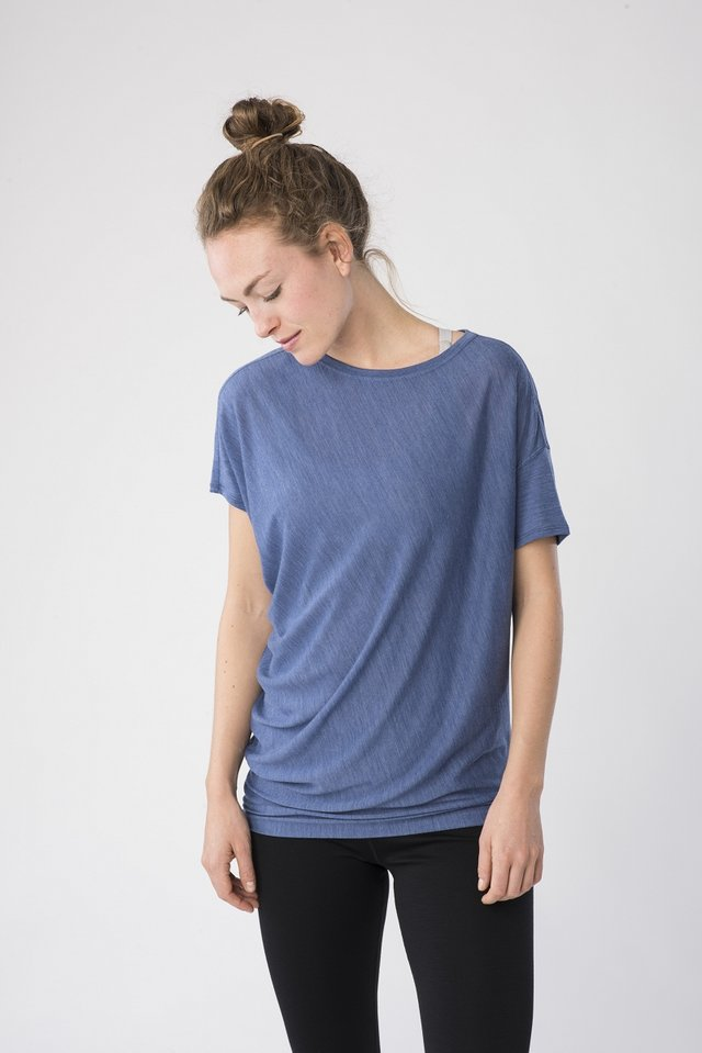 Basic T-shirt - darkblue