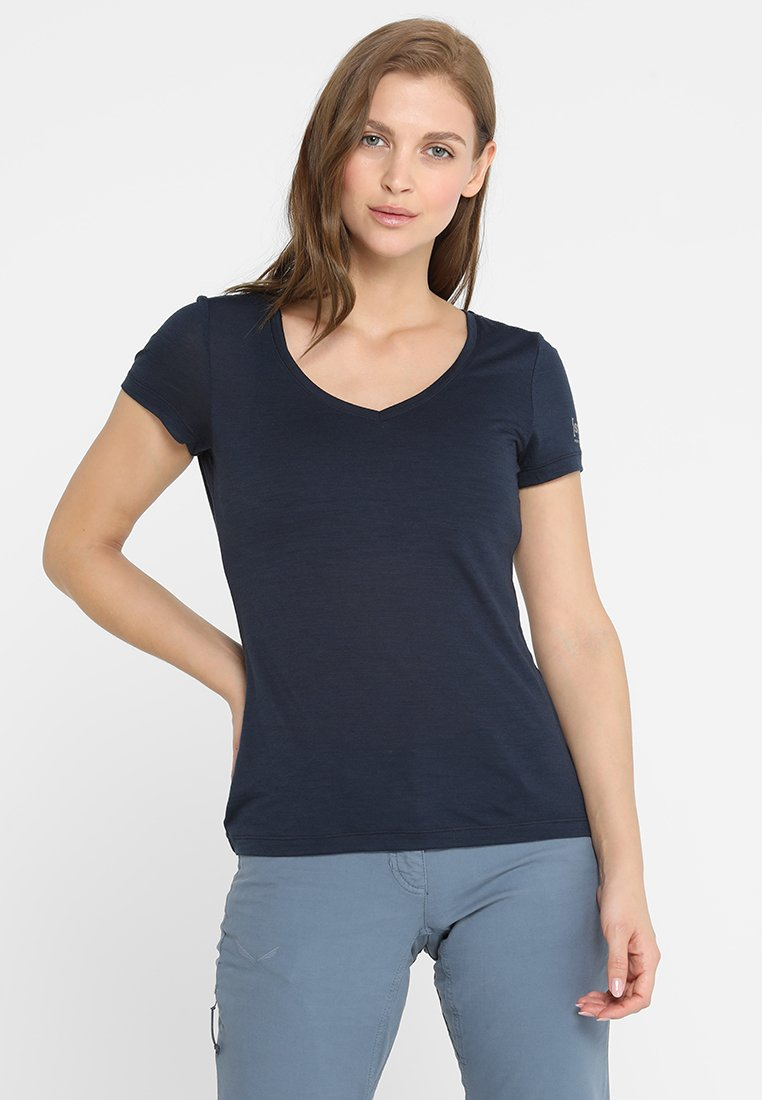 super.natural - BASE TEE - Print T-shirt - navy blazer