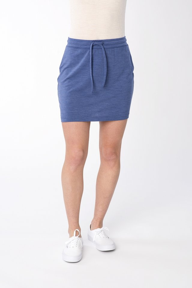 EVERYDAY - Sports skirt - blue