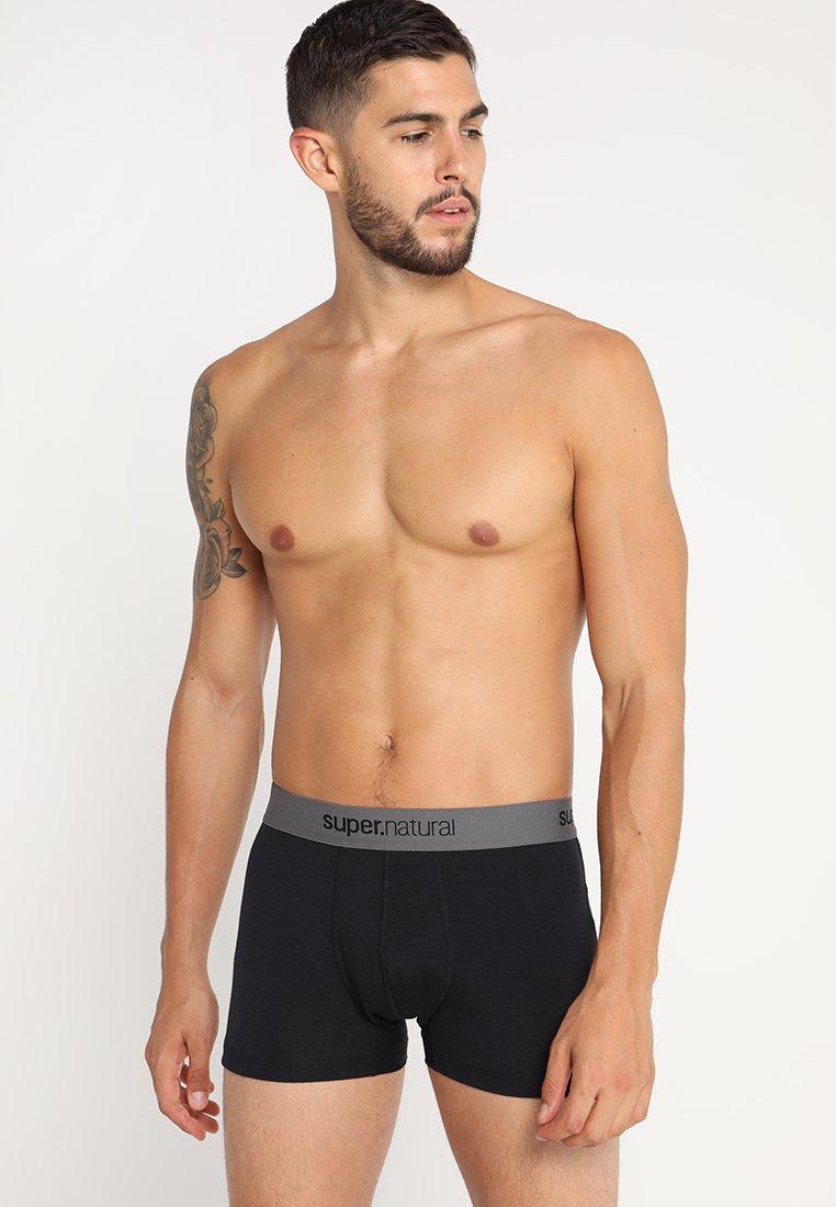 super.natural - BASE MID BOXER - Panties - jet black