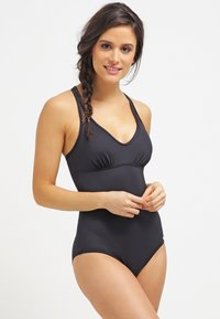 Sunseeker - Swimsuit - black solid - 0