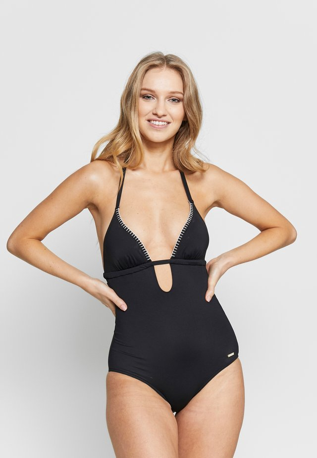 SWIMSUIT SUNSEEKER DAINT - Badeanzug - black