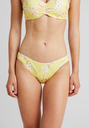 PANTS CHEEKY - Bas de bikini - yellow