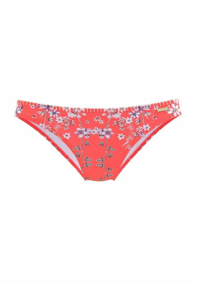 CHEEKY - Bikini bottoms - orange-bedruckt