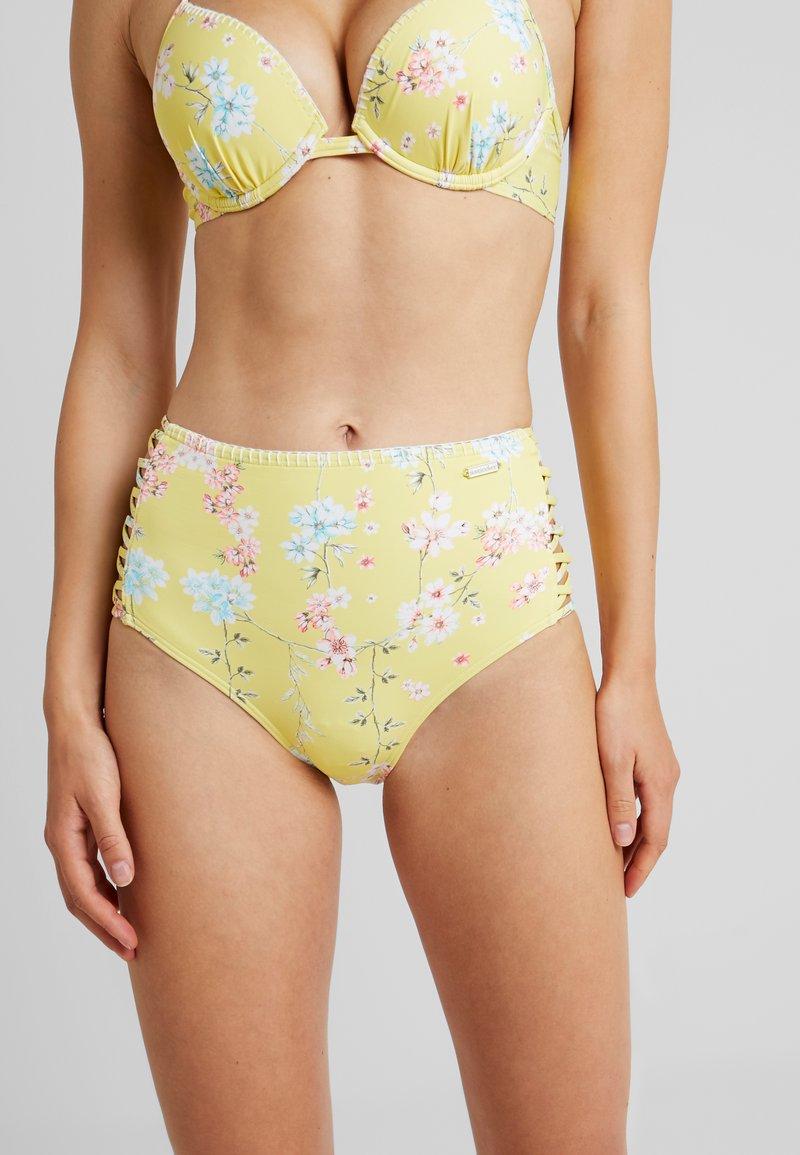 Sunseeker - PANTS HIGHWAIST - Bikinibukser - yellow