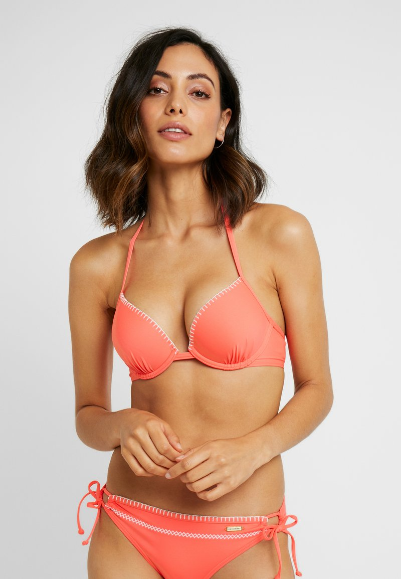 Sunseeker - PUSH UP - Bikini top - lobster