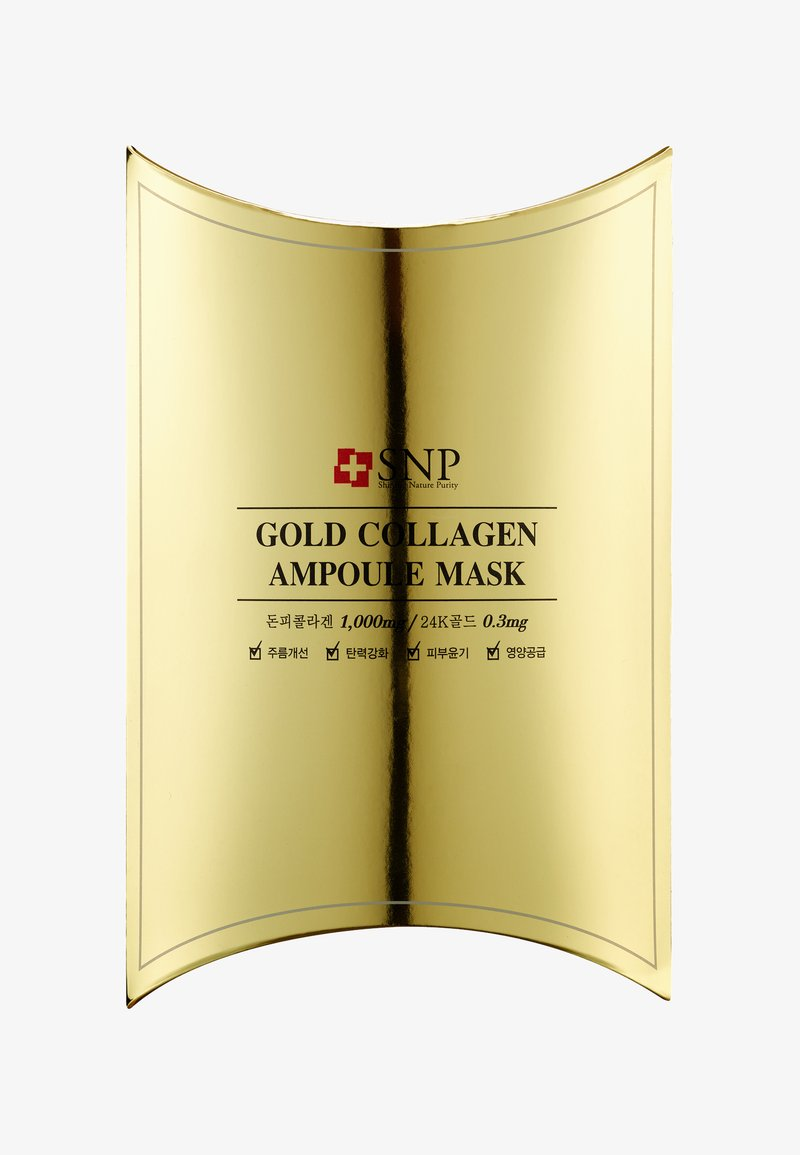 SNP - SNP GOLD COLLAGEN AMPOULE MASK 10 PACK - Face mask - -
