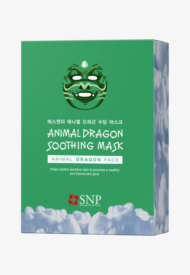 SNP ANIMAL DRAGON SOOTHING MASK 20 PACK - Gesichtsmaske - -