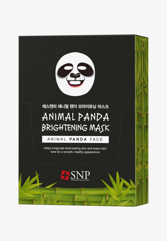 SNP ANIMAL PANDA BRIGHTENING MASK 20 PACK - Gesichtsmaske - -