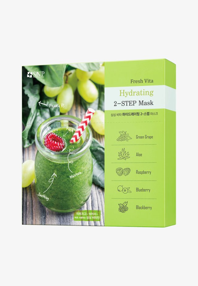 SNP FRESH VITA HYDRATING TWO-STEP MASK 10 PACK - Face mask - -