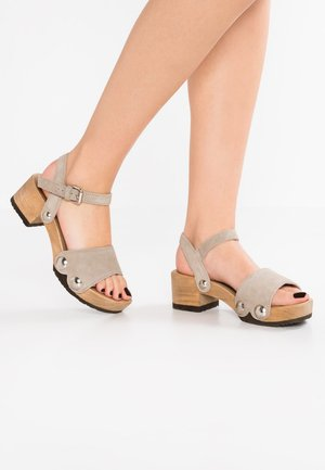 PENNY - Clogs - taupe