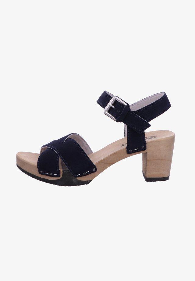 High heeled sandals - darkocean