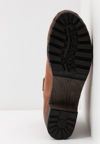Softclox - INKEN - Platform ankle boots - cognac - 6