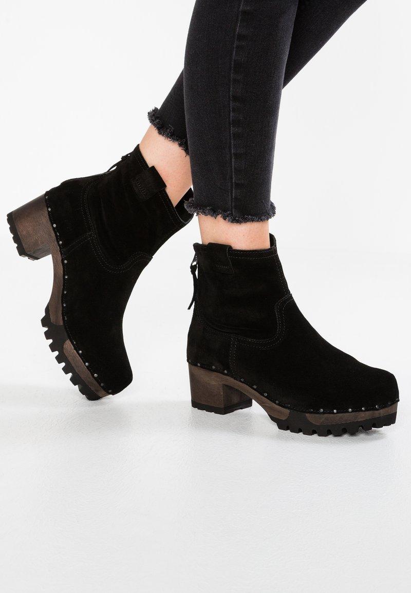 Softclox - INKEN - Platform ankle boots - bailey schwarz