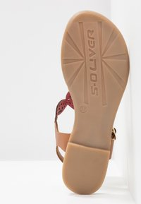s.Oliver - T-bar sandals - bright red - 6