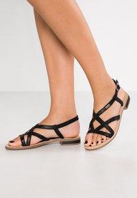 s.Oliver - Sandals - black - 0