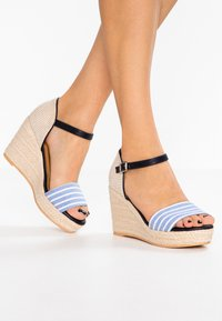 s.Oliver - High heeled sandals - navy - 0
