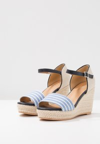 s.Oliver - High heeled sandals - navy - 4