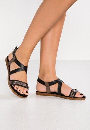 Sandals - black/pewter