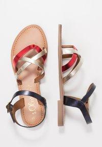 s.Oliver - T-bar sandals - red - 3
