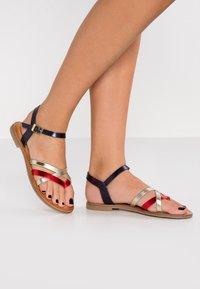 s.Oliver - T-bar sandals - red - 0