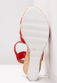 s.Oliver - Platform sandals - lipstick - 6