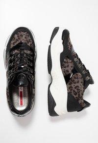 s.Oliver - DA.-SCHNÜRER - Sneakers - black - 3