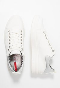 s.Oliver - Sneaker low - white - 3