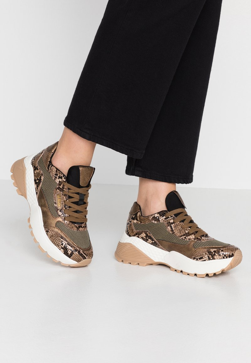s.Oliver - Sneakers laag - brown