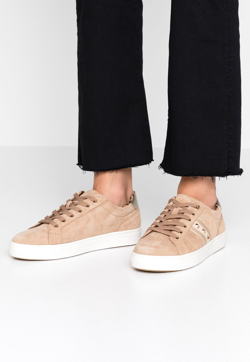 s.Oliver - Sneakers laag - sand