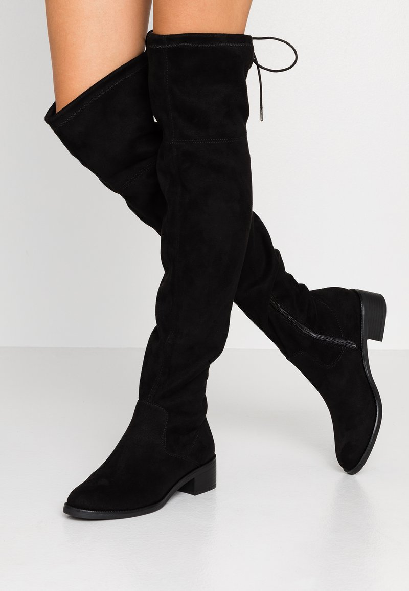 s.Oliver - Over-the-knee boots - black