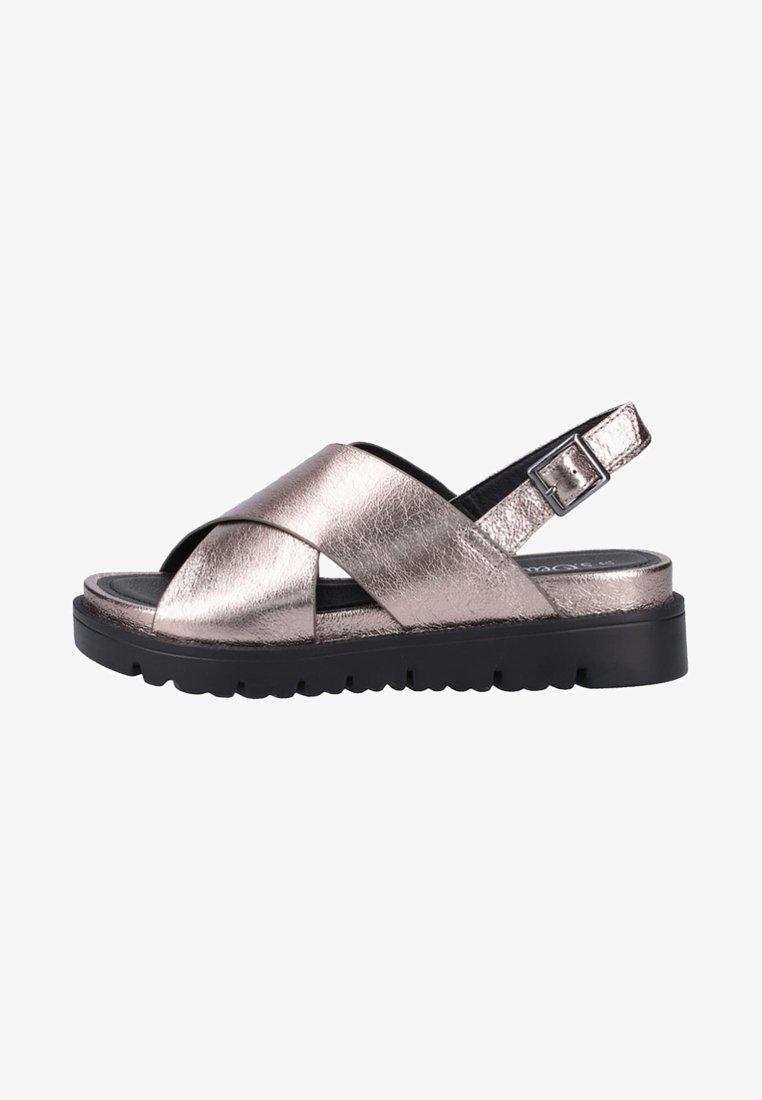 s.Oliver - Platform sandals - grey