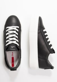 s.Oliver - Sneakers basse - black - 3