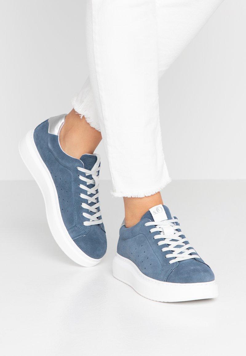 s.Oliver - Sneaker low - blue
