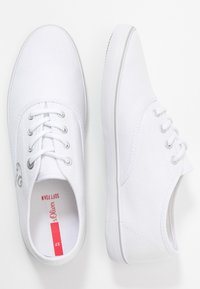 s.Oliver - LACE-UP - Sneakersy niskie - white - 3