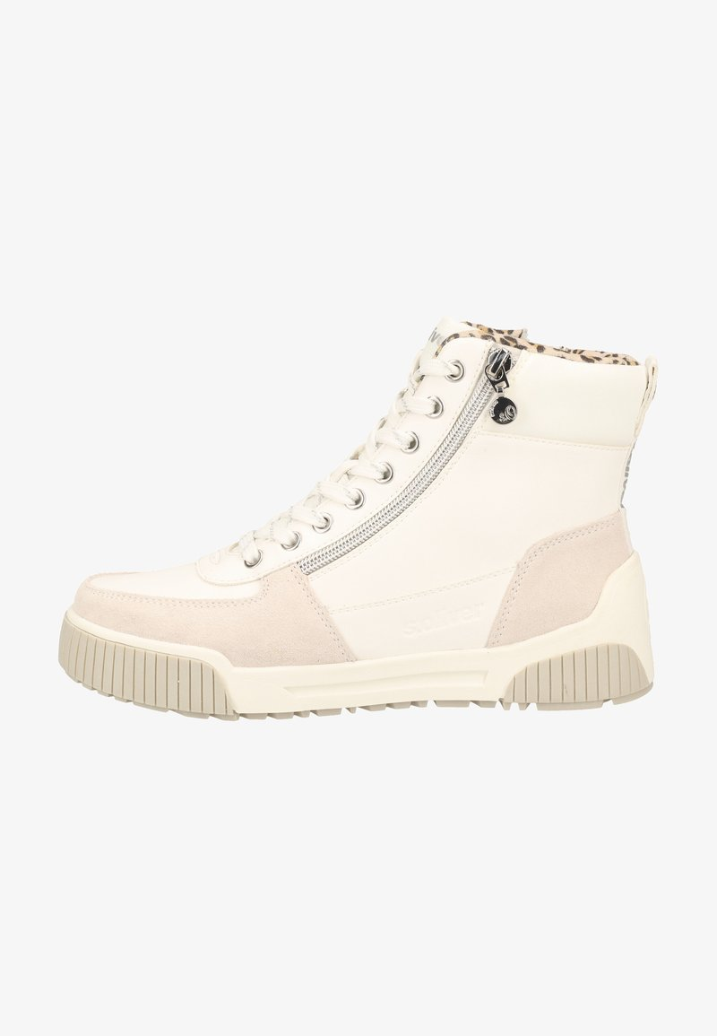 s.Oliver - Sneakers high - white