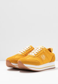 s.Oliver - Joggesko - yellow - 4