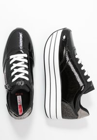 s.Oliver - Sneakers laag - black - 3